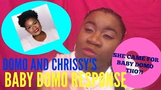 Download DOMO AND CRISSY BABY UGLY?? -CROWNED QUEEN TV RESPONSE! Video