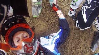 Download Brutal Motocross Crashes & Funny Dirt Bike Fails 2016 Video