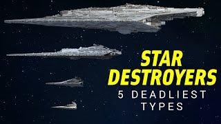 Download The 5 Deadliest Star Destroyer Types in Star Wars Legends | Star Wars Lore Top 5 Video