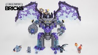 Download Lego Nexo Knights 70356 The Stone Colossus of Ultimate Destruction Speed Build Video