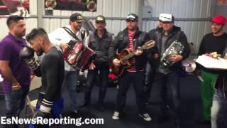 Download Abner Mares Birthday Party At RGBA Music Cake Friends - esnews boxing Video