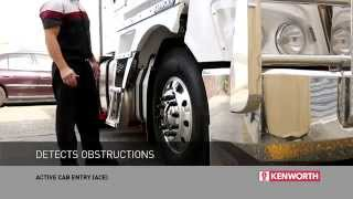 Download Kenworth Trucks Active Cab Entry (ACE) system Video