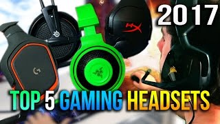 Download Top 5 Gaming Headsets to Buy Under $50 in 2017 Video
