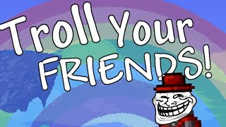 Download Trolling in Terraria! Easy ways to Troll Noobs! (Even Pros!) Video