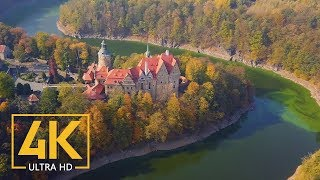 Download 4K Polish Castles - Stunning Aerial Drone Footages of Best Castles of Poland Video