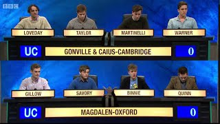 Download University Challenge S44E31 Gonville and Caius, Cambridge vs Magdalen, Oxford Video