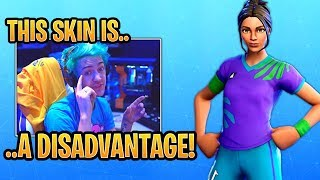 Download Ninja on Why the Soccer Skins are a DISADVANTAGE in Fortnite! - Fortnite Best and Funny Moments Video