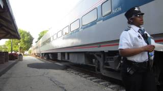 Download 2 Cool Conductors on Amtrak 142 South Dwight, IL 5/19/12 Video