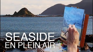 Download How to paint a scene from life! / Seaside En Plein Air! Video