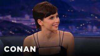 Download Felicity Jones Teaches Conan Brummie Slang Video