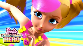 Download Barbie Video Game Hero Movie Exclusive 11-Minute Premiere | Barbie Video