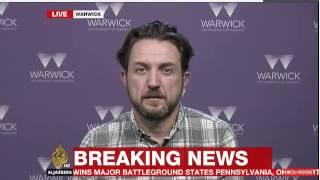 Download Al Jazeera English News - Dr Trevor McCrisken - Discusses the US Presidential Election Video