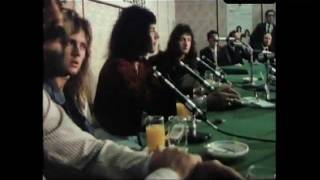 Download Queen - Live In Japan 1975 - Press Conference/Tea Ceremony Video