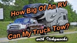 Download RV's How Big of an RV Can My Truck Tow? Video