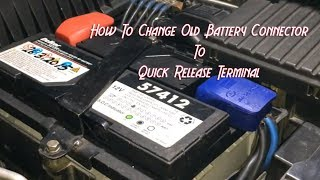 Download How To Change or Modify Old Battery Connector To QUICK RELEASE Connector Video