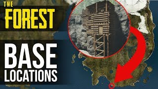 Download You NEED to Build Your Next Base Here! The Forest Video