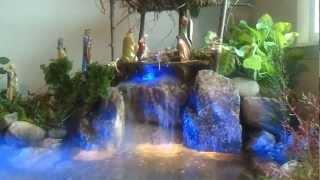 Download El nacimiento de navidad (pesebre) mas real con cascada natural hecho en un dia Video