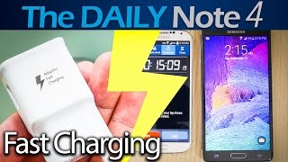 Download Samsung Galaxy Note 4 Adaptive Fast Charging vs Note 3 Video