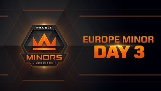 Download The FACEIT European Minor Championship | Day 3 Video