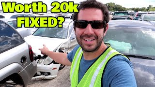 Download I BID on a Wrecked Rare AMG Wagon at Copart! Can I Even Fix This??? Video