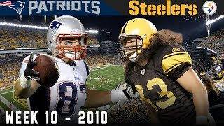 Download Gronk's FIRST Big Game! (Patriots vs. Steelers, 2010) Video