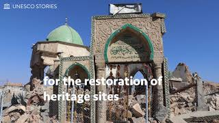 Download Before reconstructing cultural heritage sites, demining is a fundamental step... Video