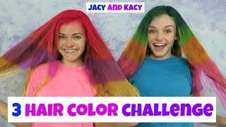 Download 3 Hair Color Challenge ~ Jacy and Kacy Video