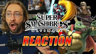 Download MAX REACTS: Simon Belmont, King K. Rool & A TON MORE - Smash Bros Ultimate Video