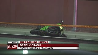 Download Motorcyclist dies in northwest Las Vegas crash Friday Video