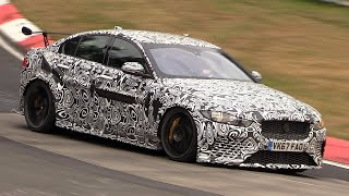 Download Jaguar XE SV Project 8 - Exhaust SOUNDS On The Nurburgring! Video