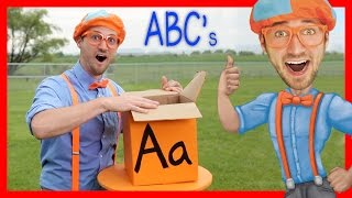 Download Learn The Alphabet With Blippi | ABC Letter Boxes Video