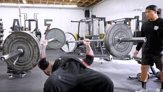 Download BENCHING 225 POUNDS IN EACH ARM! Video