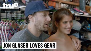Download Jon Glaser Loves Gear - Gearing Up for a Surf Lesson Video
