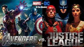 Download The Avengers vs. Justice League: Marvel vs. DC At the Movies Video
