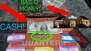 Download (CASH) DUMPSTER DIVING BANK!! COPS! MONEY FOUND IN DUMPSTER! COUNTERFEIT! Video