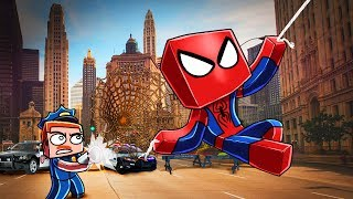 Download Minecraft | SPIDERMAN GETS ARRESTED! (Stupid Place) Video