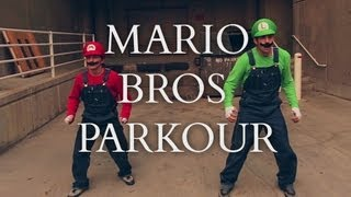 Download Super Mario Brothers Parkour [In Real Life] Video