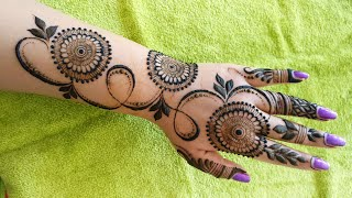 Download Easy and Beautiful Mehndi Design for Hand    EID Special Mehndi Design 2018 #4 Video