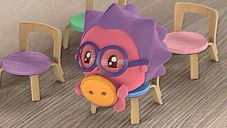 Download Малышарики - Новые серии - Автобус (69 серия) Обучающие мультики для малышей 1,2,3,4 года Video