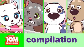 Download Talking Tom and Friends Minis - Episodes 1-4 Binge Compilation Video