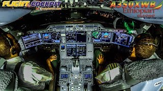Download COCKPIT Airbus A350XWB to DUBAI & LONDON Video