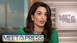 Download Amal Clooney On Human Rights Crisis In The Maldives | Meet The Press | NBC News Video
