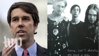 Download Beto O'Rourke was in a punk rock band. The Texas GOP tried to shame him. Video