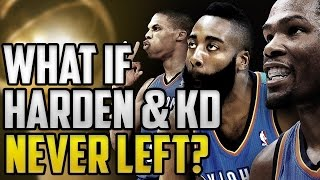 Download What If James Harden and Kevin Durant Never Left The Oklahoma City Thunder? NBA 2K16 #OKC Video