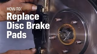 Download How to Replace Brake Pads - AutoZone Car Care Video