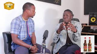 Download STONEBWOY responds to news that he and Samini were not allowed to perform at the reign album launch Video