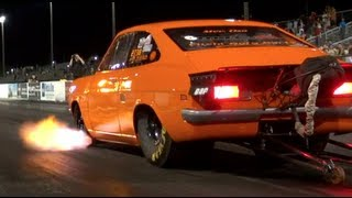 Download Worlds Fastest Datsun 4 Cylinder Nissan SR20 Powered -NDIMA- (NEW WORLD RECORD) Video