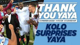 Download KOLO SURPRISES YAYA! | Yaya Toure Goodbye Video