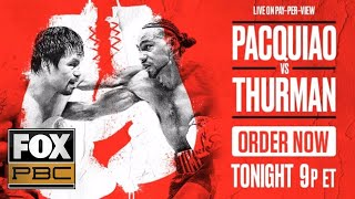 Download Manny Pacquiao vs. Keith Thurman | EXCLUSIVE PRELIM BOUTS | PBC ON FOX Video