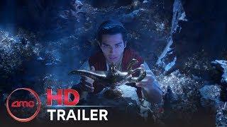 Download ALADDIN - Official Teaser Trailer (Mena Massoud, Naomi Scott, Will Smith)   AMC Theatres (2019) Video